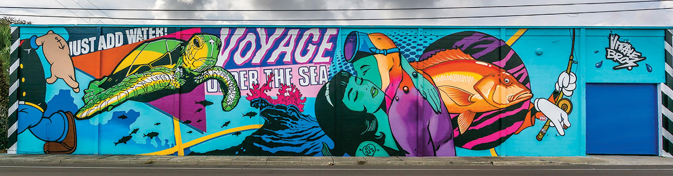 Page 16 of SHINE Mural Festival