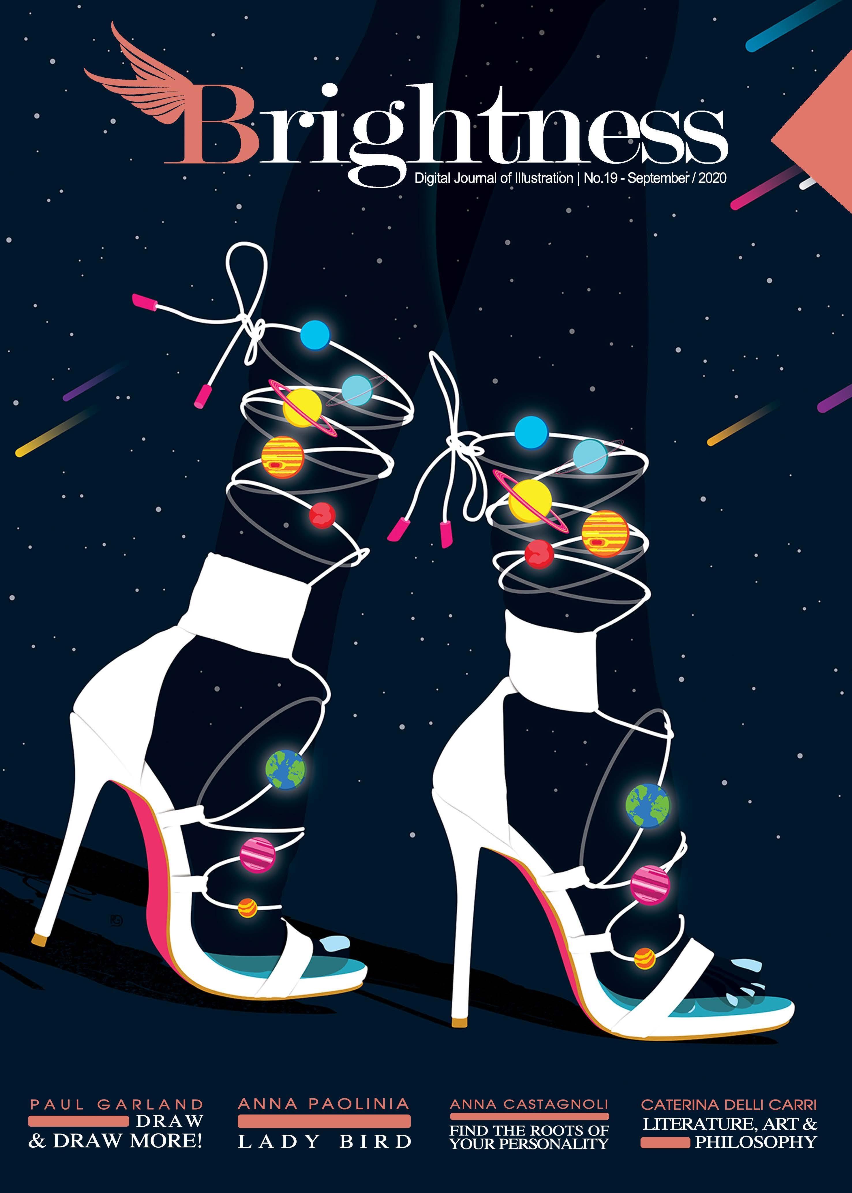 Page 1 of Brightness Magazine No 19 Published! Digital Journal of Illustration