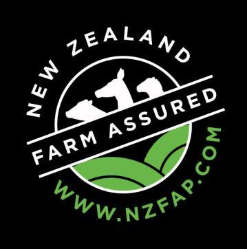 Page 3 of New Zealand Farm Assurance Programme Standard