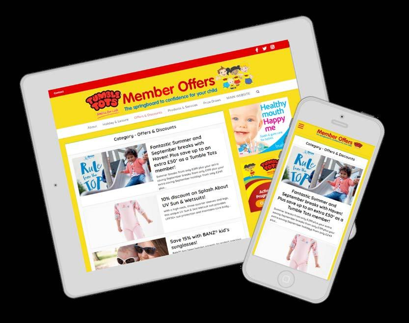 Page 14 of Tumble Tots Member Offers