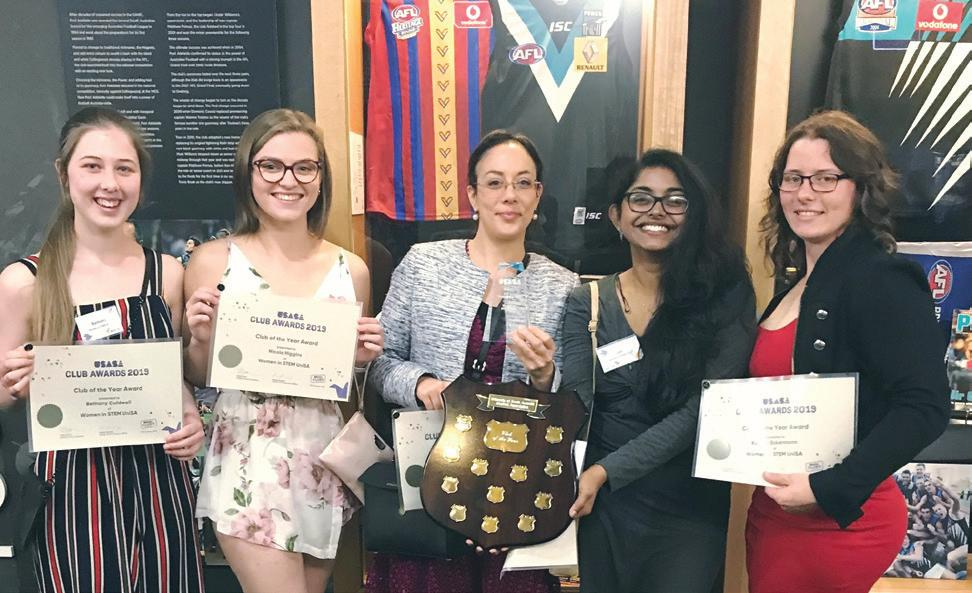 Page 62 of Club Feature: Women in STEM