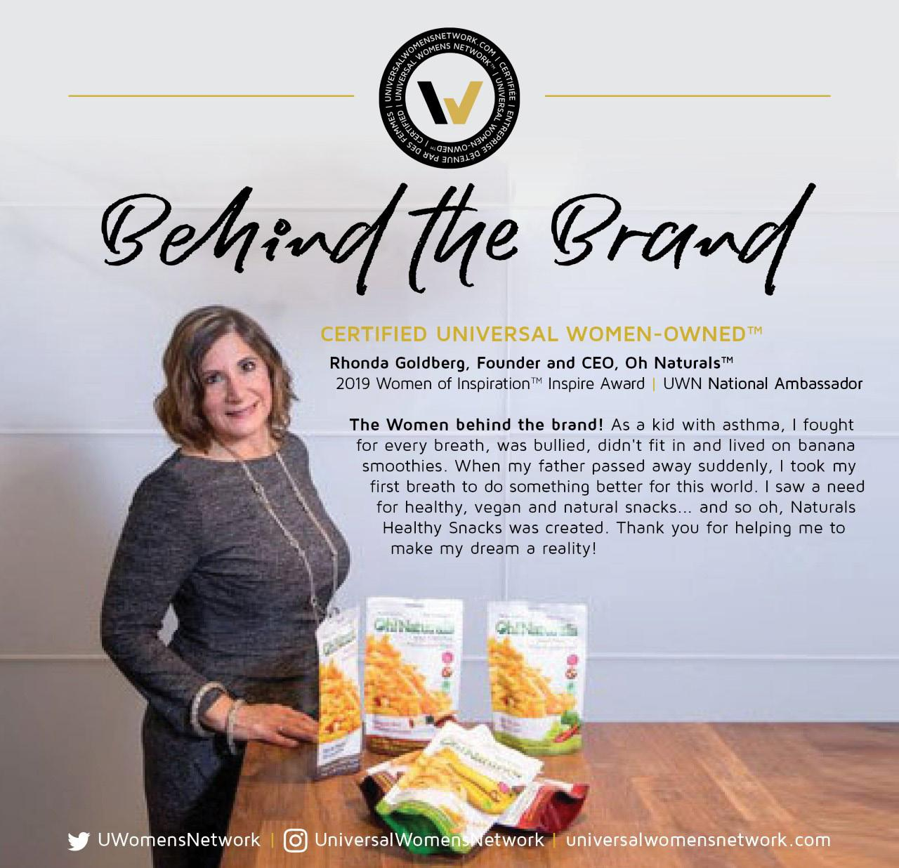 Page 26 of Meet Rhonda owner and founder of Oh-Naturals Foods!
