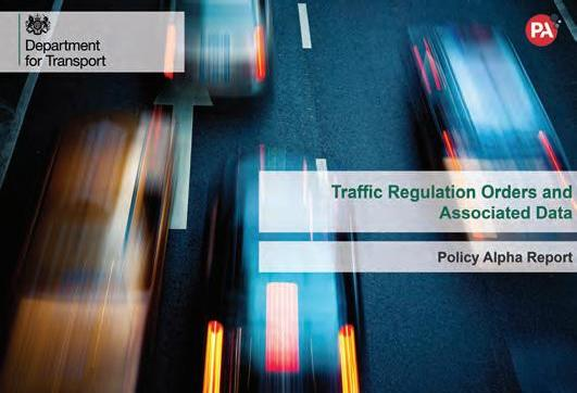 Page 8 of PA Consulting advises DfT on future of Traffic Regulation Orders