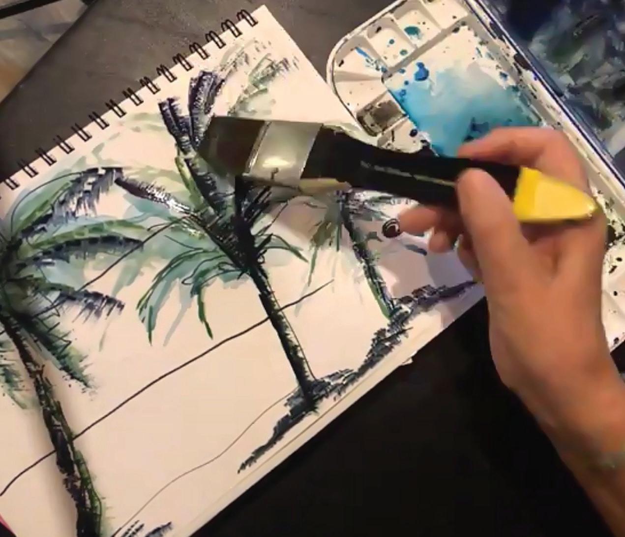 Page 6 of Urban Sketching   Art Journal