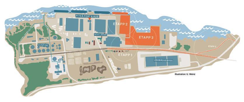 Page 50 of Hamn Hamnen i Piteå byggs ut för ökade godsmängder