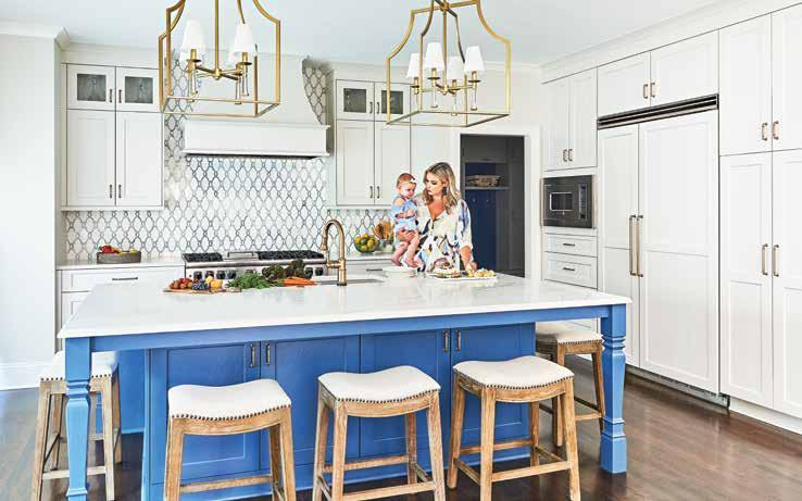 Page 84 of COLOR ME HAPPY  Are you ready to make a statement in your home? Impact Design Resources shares how embracing color can give you that unexpected wow factor