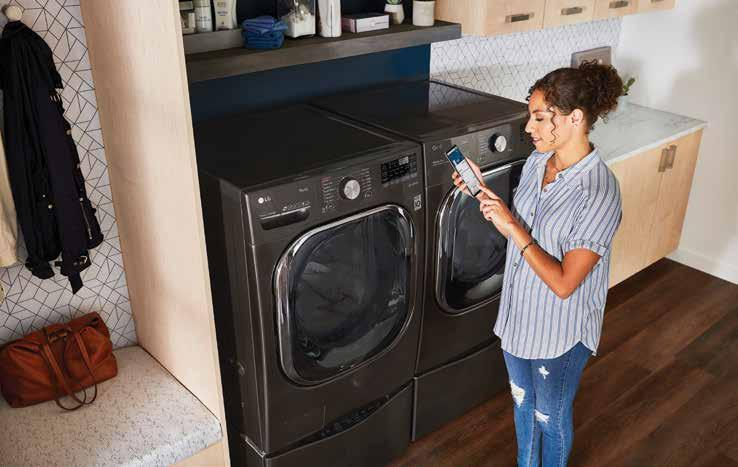 Page 88 of SMART LIVING  For homeowners ready to reclaim their precious time, Bill Pleasants, Jr., ofPlaza Appliance Mart discusses two smart appliances that are receiving rave reviews
