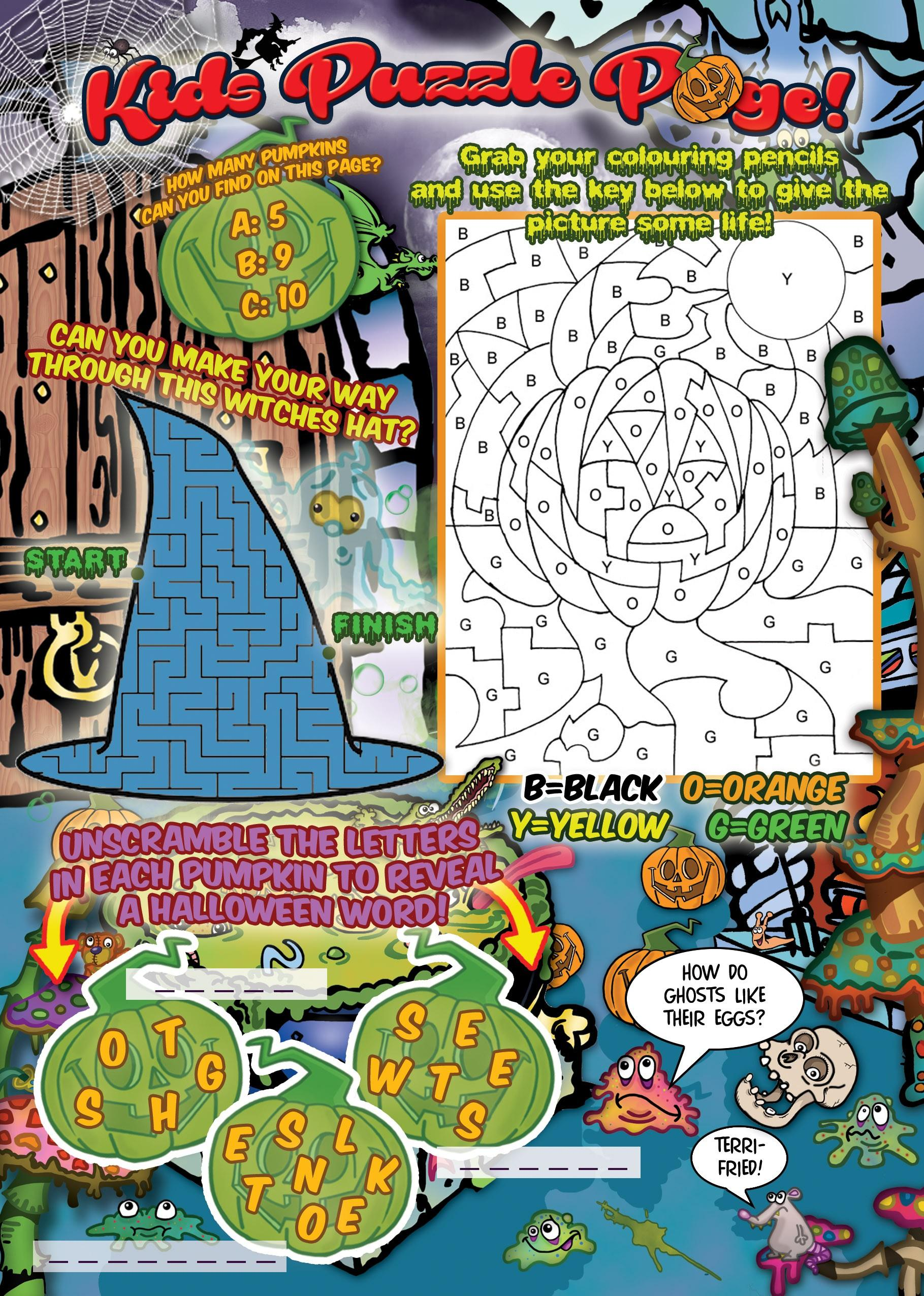 Page 30 of Kids puzzle page