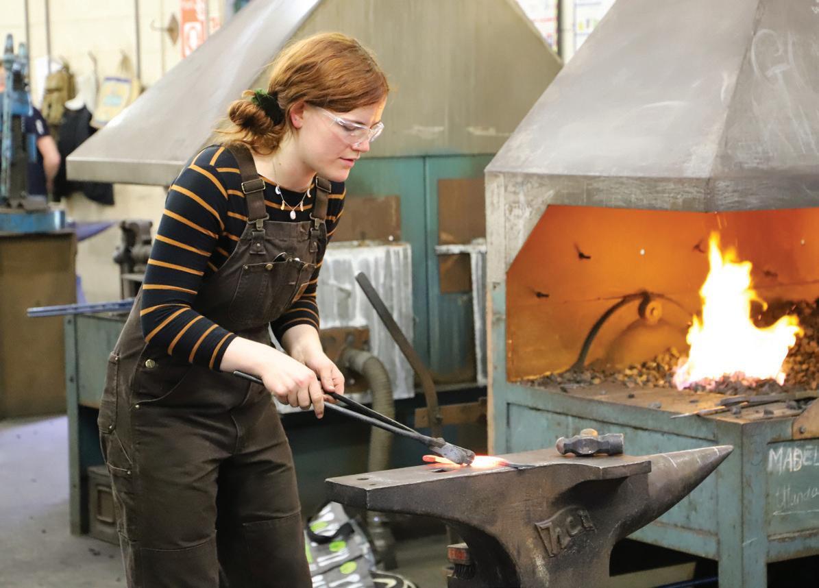 Page 32 of Artist Blacksmithing BA (Hons