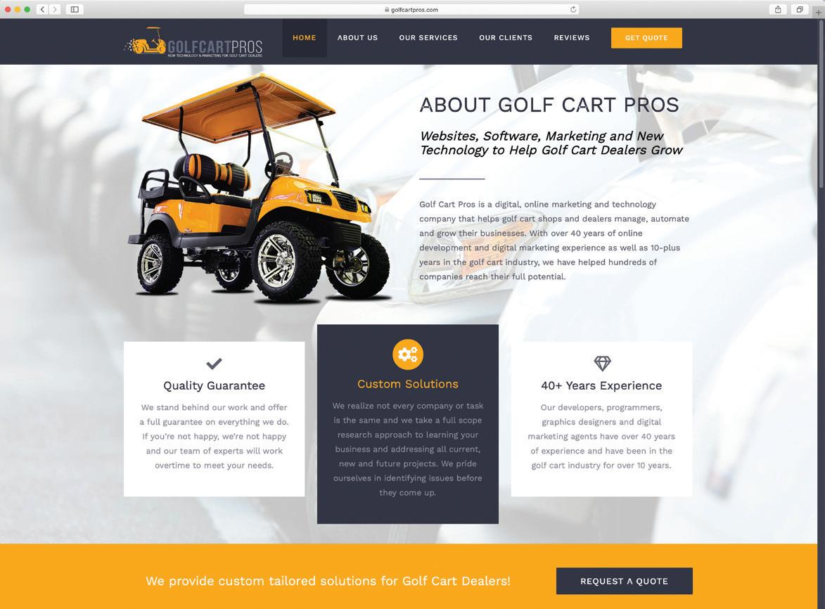 Page 22 of GOLF CART PROS