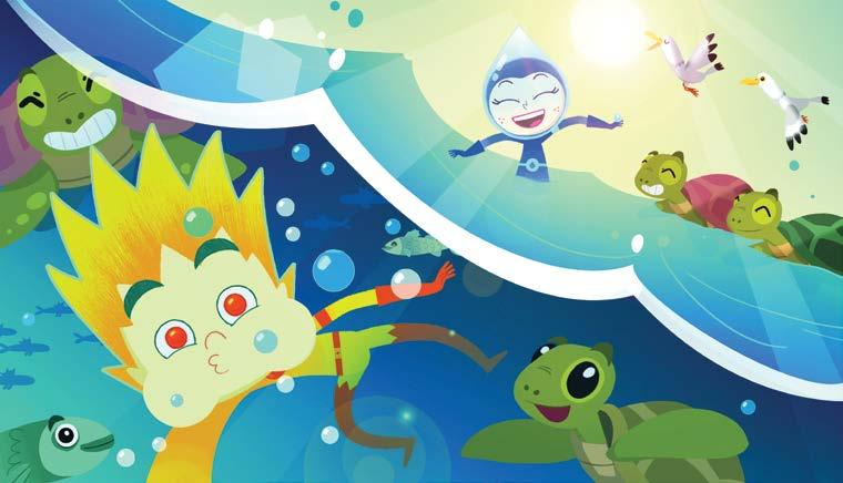 Page 32 of MONDO TV MeteoHeroes: saving the planet - and that's just the start