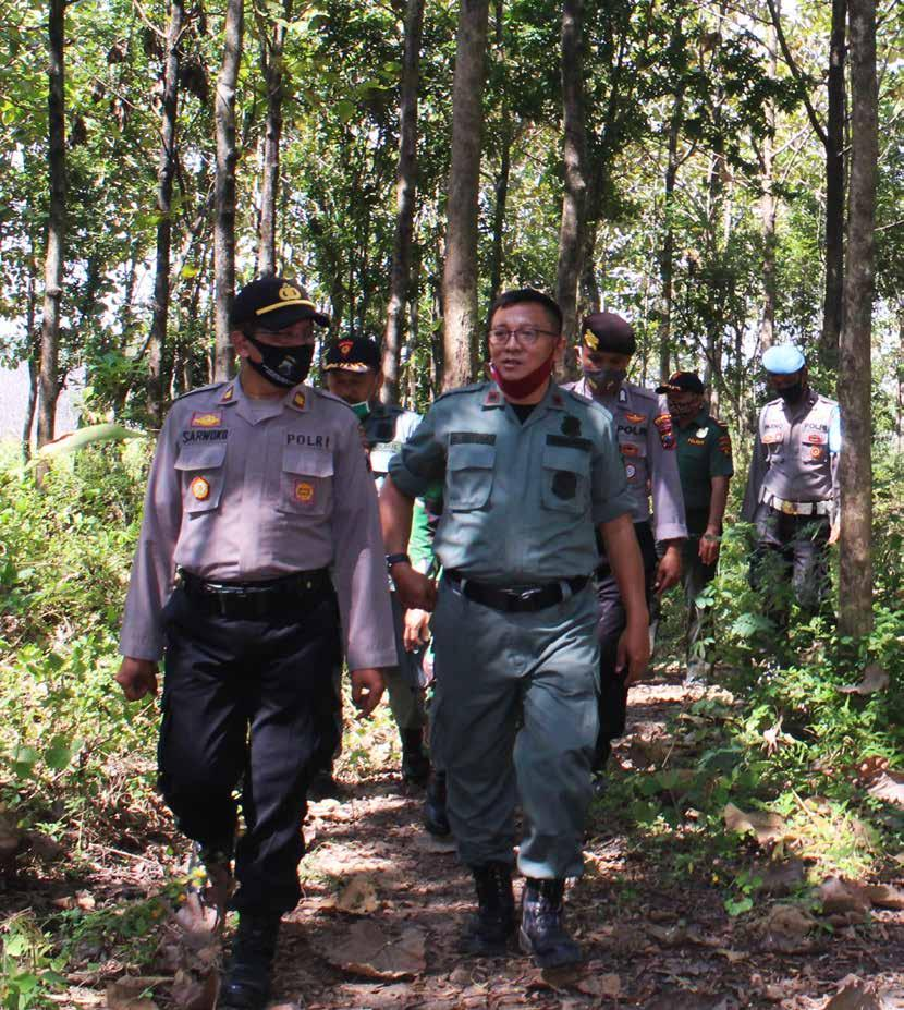 Page 84 of Di Telawa, Antisipasi Keamanan Hutan dan Karhutla Terus Dilakukan
