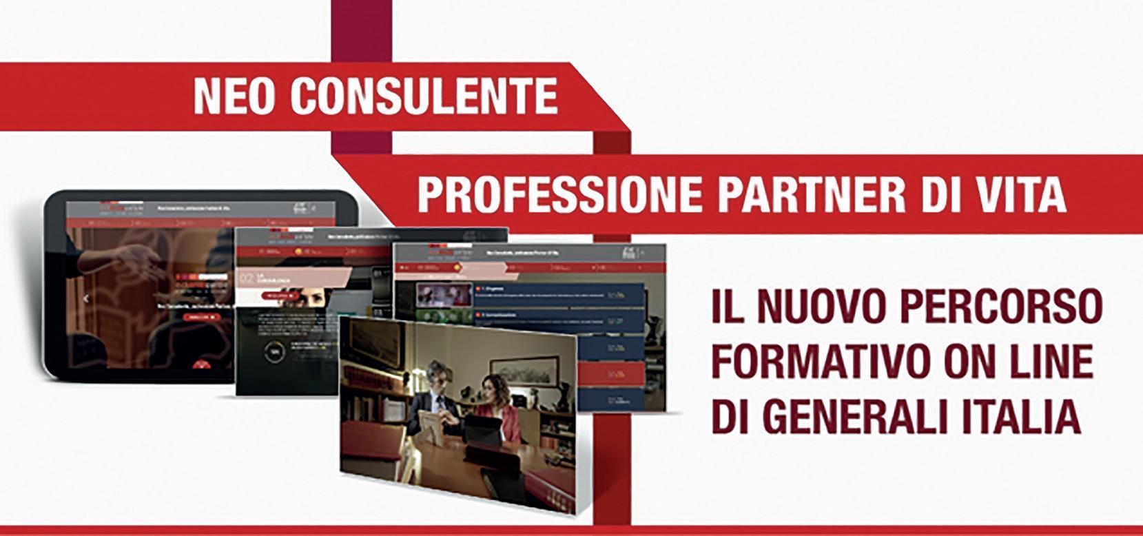 Page 20 of Generali Sales Academy. Neo consulente, professione partner di vita