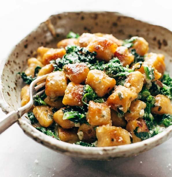 Page 58 of Roasted butternut squash gnocchi with chard