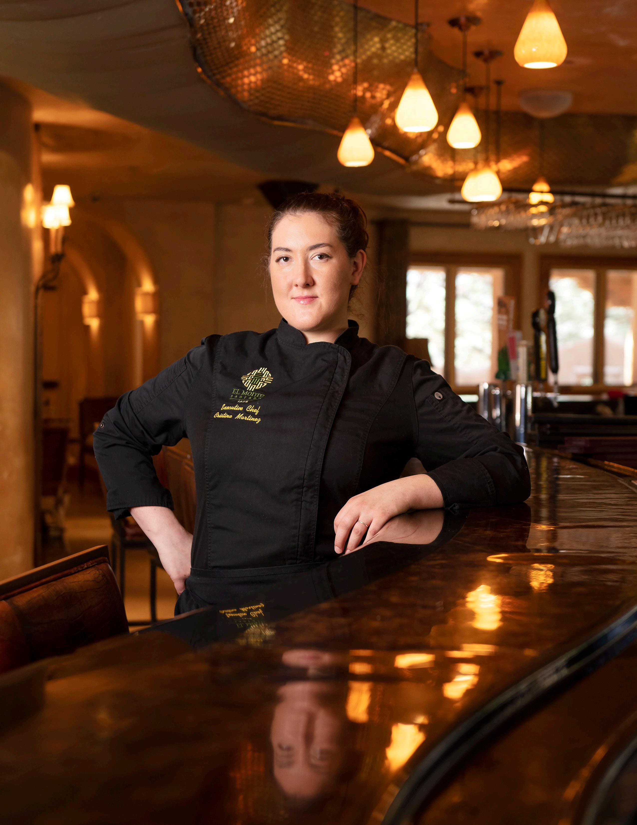 Page 60 of Chef Cristina Martinez on Being a Big Fish in a Small Pond at Taos' Di La Tierra