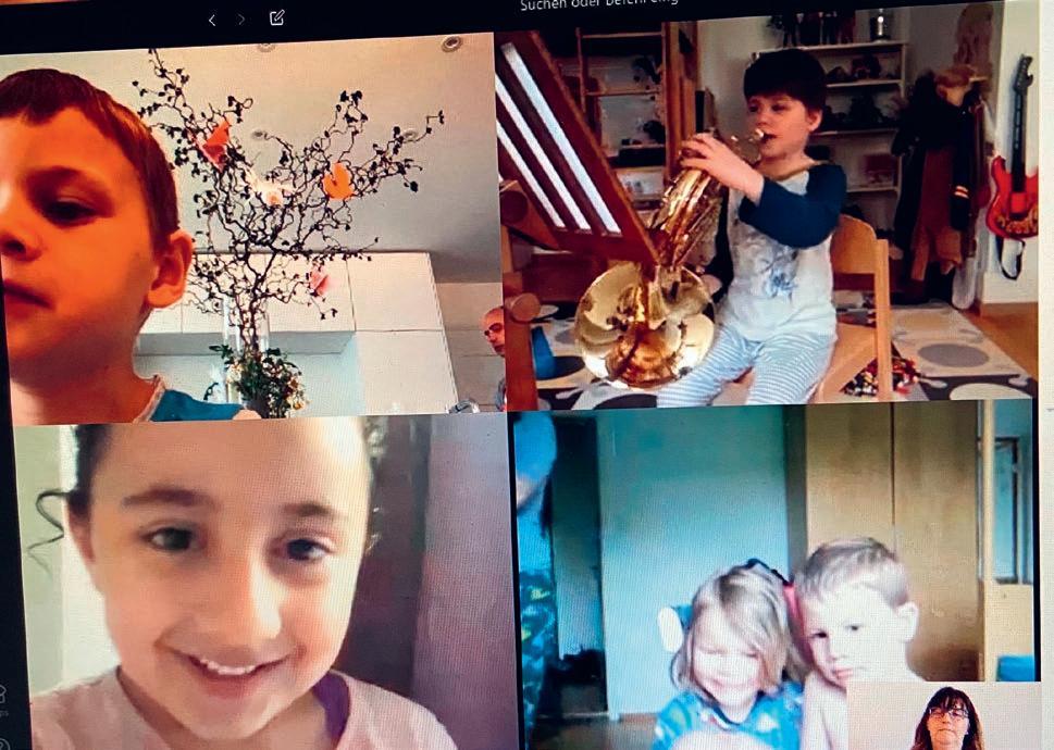 Page 16 of Kindergarten via Videokonferenz von Marc Fischer