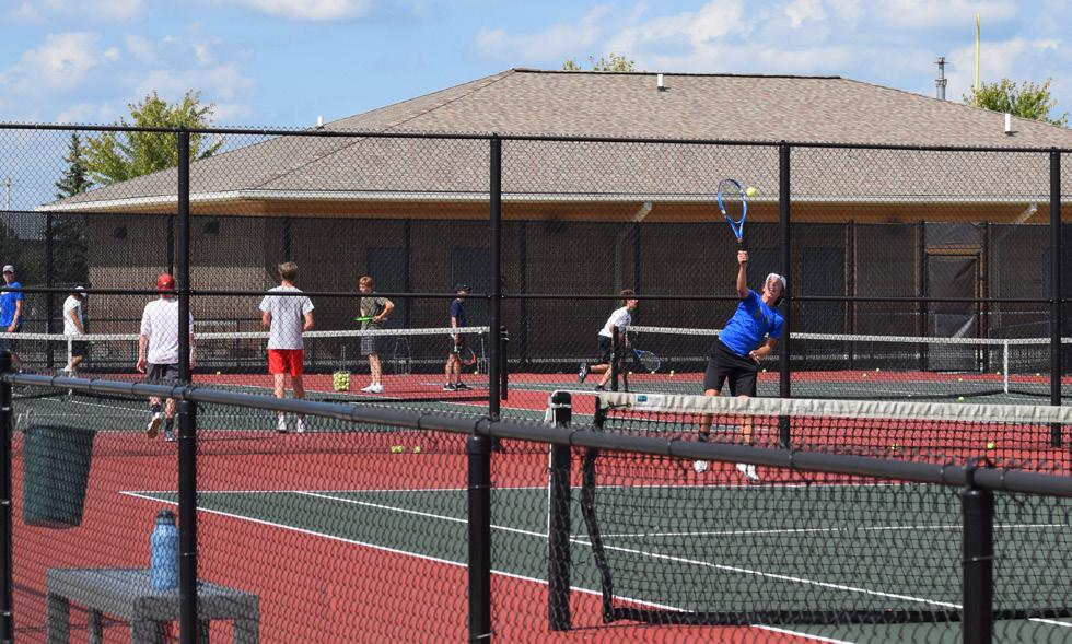 Page 22 of Boys Tennis
