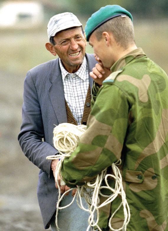Page 36 of Militær identitet – en studie av holdninger til militær virksomhet og maktbruk Per Harald Moen