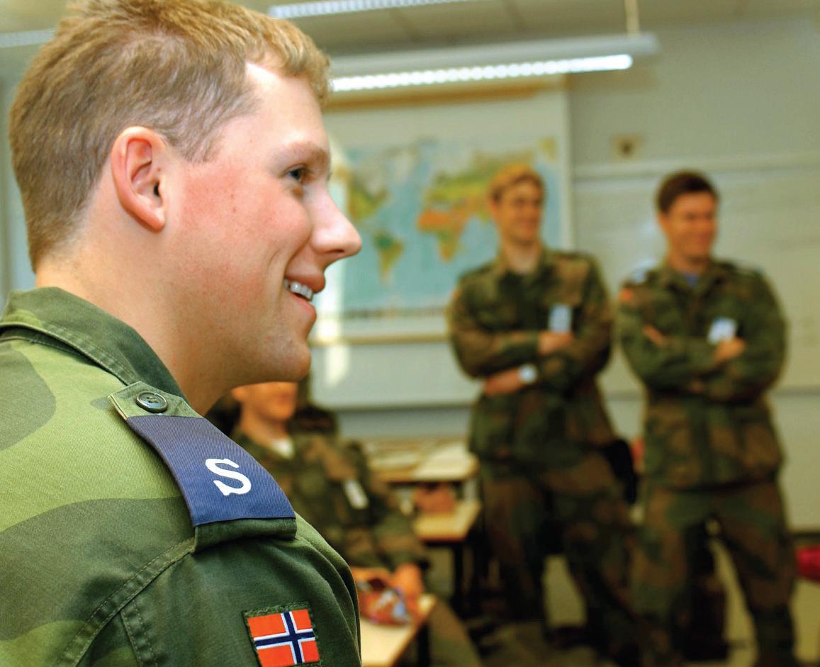 Page 6 of En kulturrapport fra Luftforsvarets Skolesenter Kjevik Ola K.Christensen