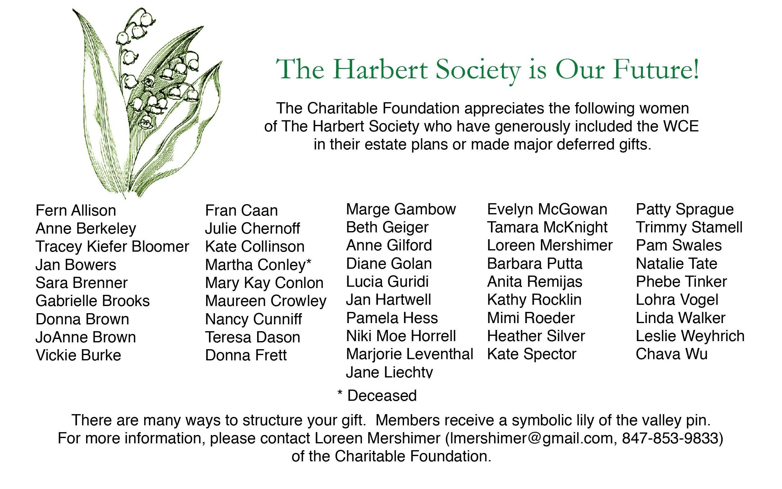 Page 22 of Harbert Society