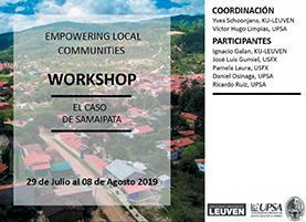 """Page 28 of Workshop Internacional """"Empoderando ciudades locales, el caso de Samaipata"""