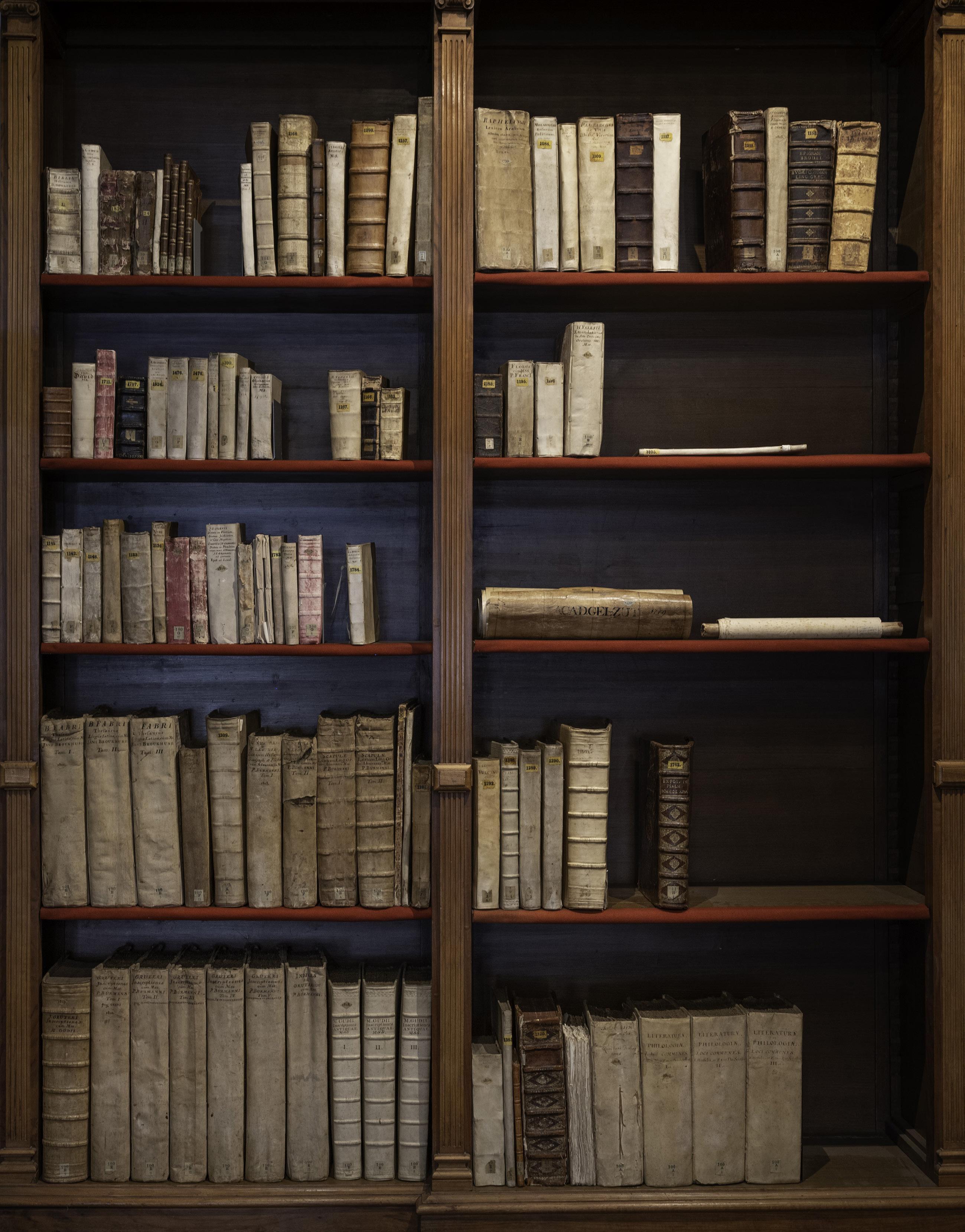 Page 10 of Een kast vol handschriften. Het tweehonderdjarig jubileum van de collectie van de Gelderse Academie in de Athenaeumbibliotheek Deventer