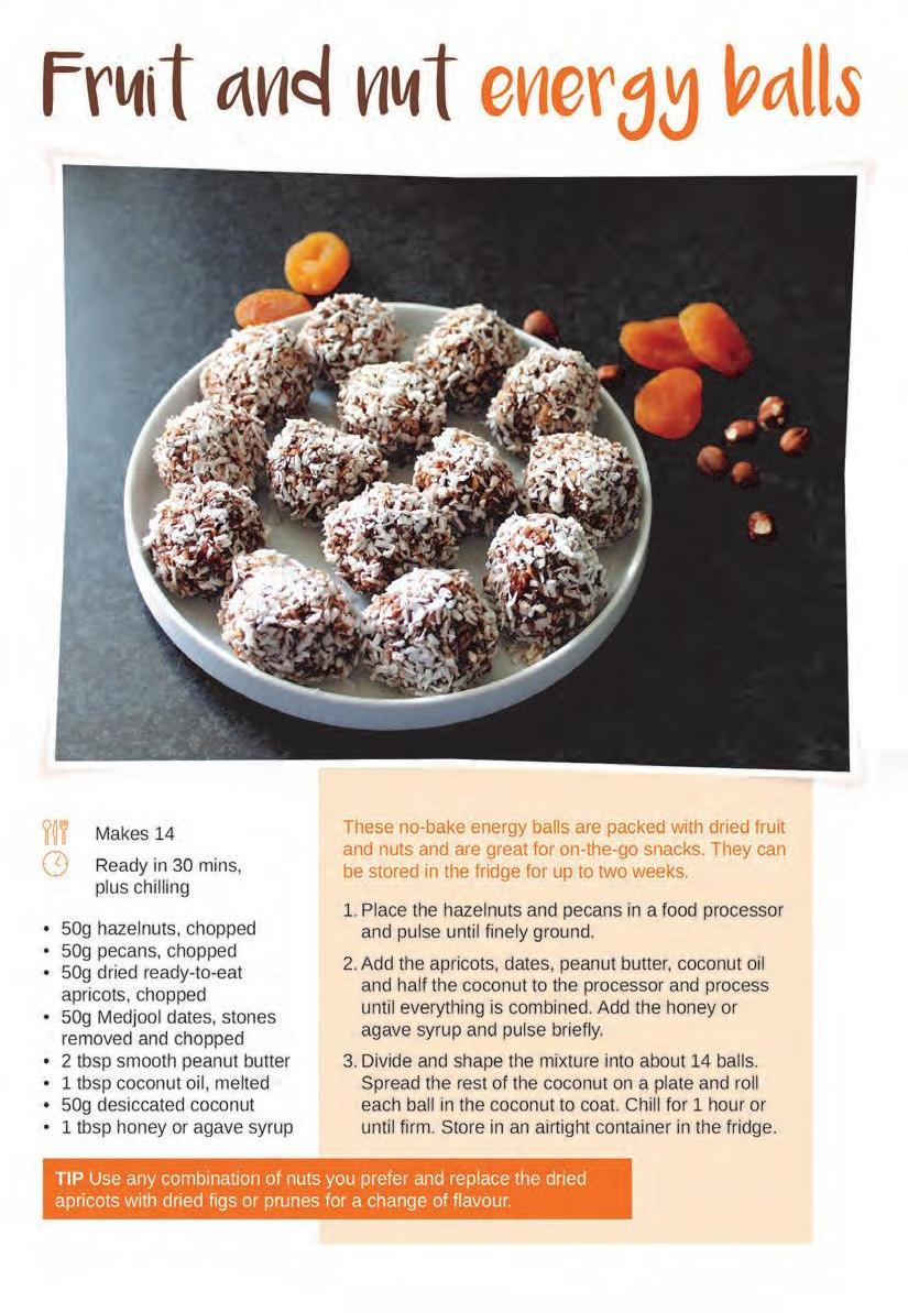 Page 18 of Cake and Bake: Fruit and nut energy balls