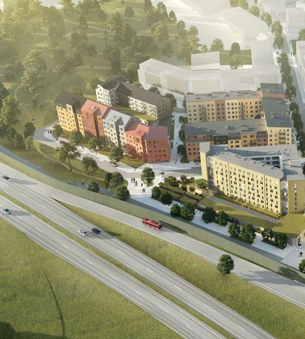 Page 4 of Täbys nya stadsdel växer fram – i full galopp