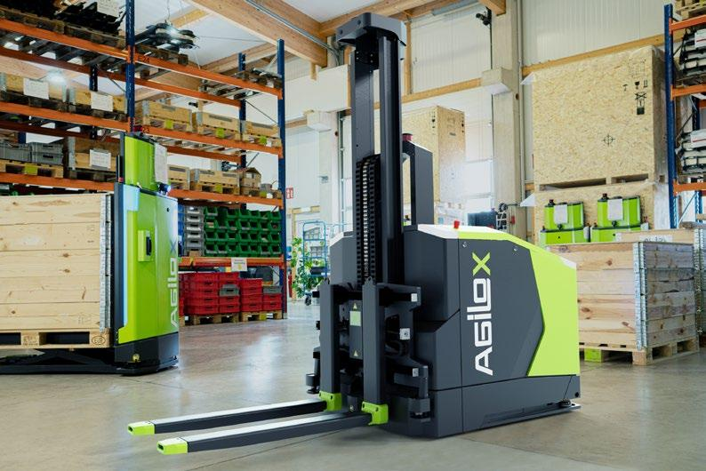 """Page 10 of New """"Intelligent guided Vehicle"""" (IgV): Autonomous counterbalanced forklift is guided by swarm intelligence"""