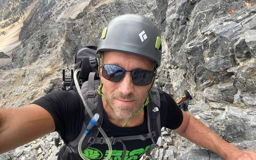 Page 24 of ALONE on a mountain Message from God assures fallen climber