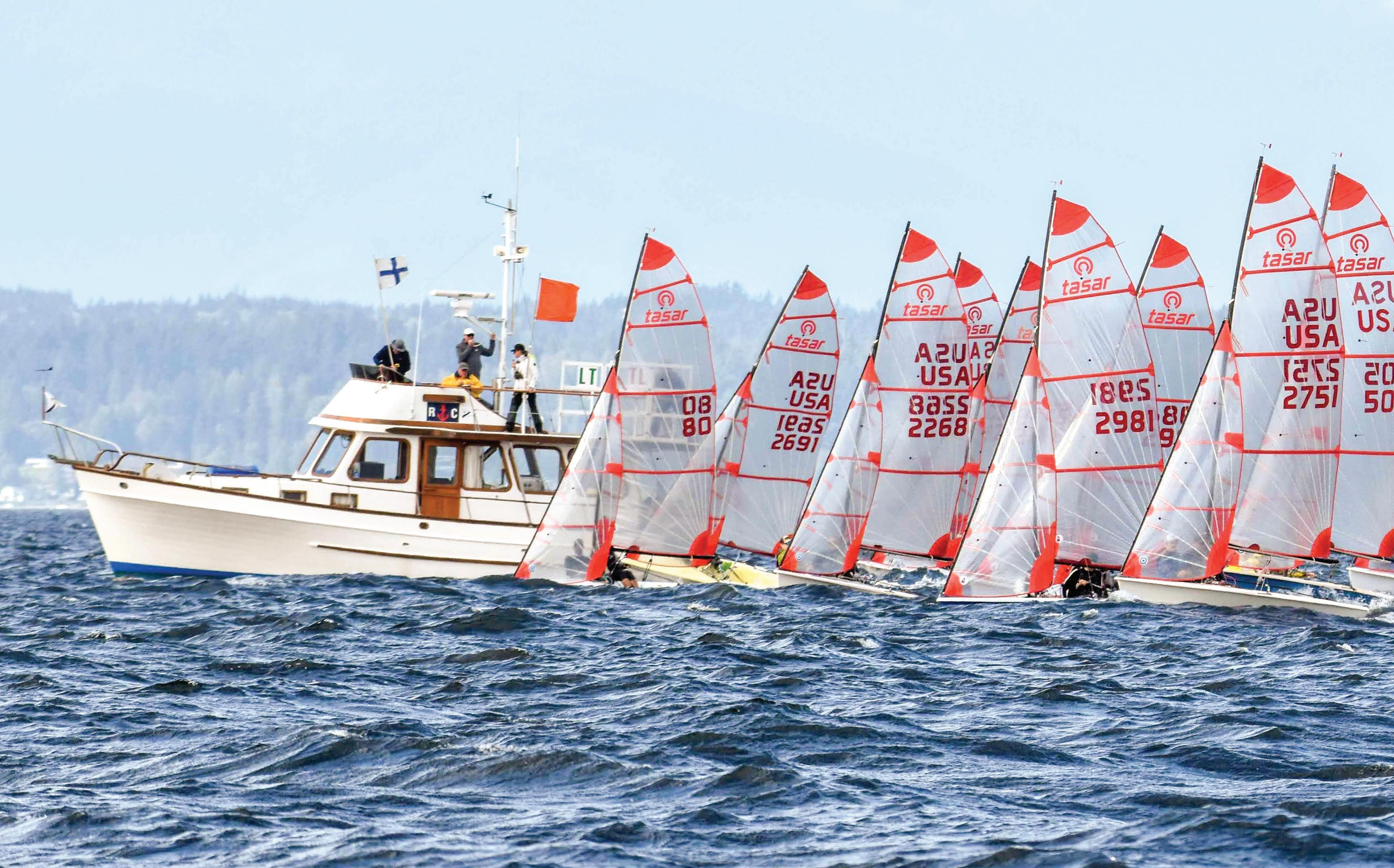 Page 40 of RACING Tasar North American Championship