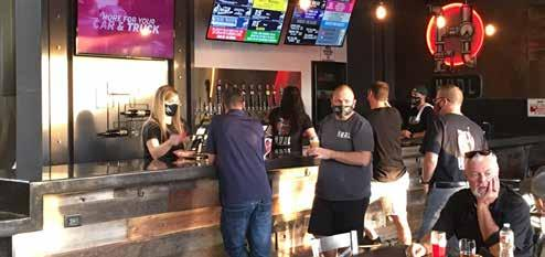 Page 8 of Speaking of other new beginnings, in my What's Brewing column I have details of the newly-opened HUDL Brewing, the reopening of Trustworthy Brewing and the gradual return of beer events, namely the Oktoberfest beer dinner at Ellis Island's The Front Yard