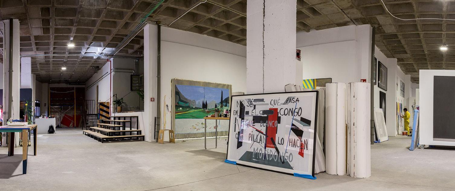 Page 42 of Nave Oporto: Un taller compartido en Madrid por Pablo Ángel Barrios