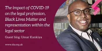 Page 12 of The impact of COVID-19 on the legal profession, Black Lives Matter and representation within the legal sector