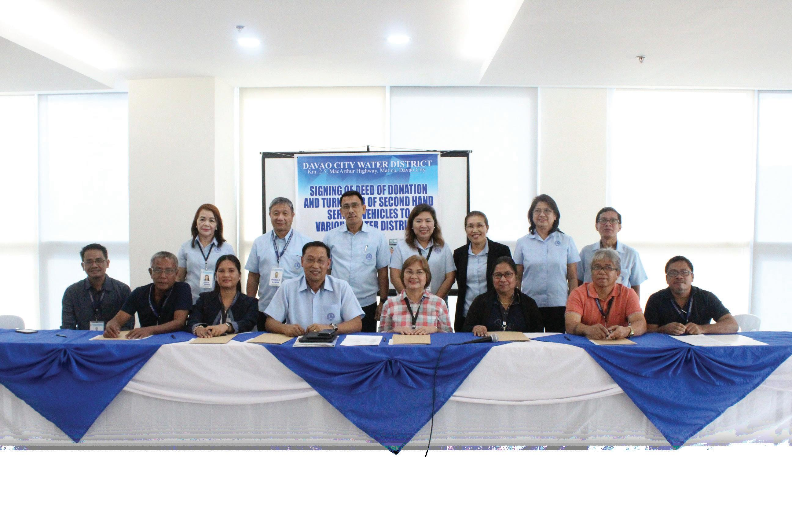 Page 10 of Vehicles donated to 22 Mindanao WDs