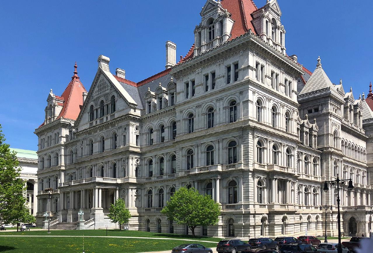 Page 22 of NYS Government Affairs Committee: AIA New York State News