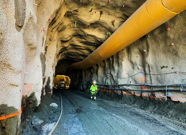Page 24 of Spårtunneln under Varberg börjar sprängas i slutet av året