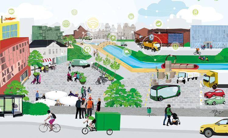 Page 40 of Smarta urbana trafikzoner skapar