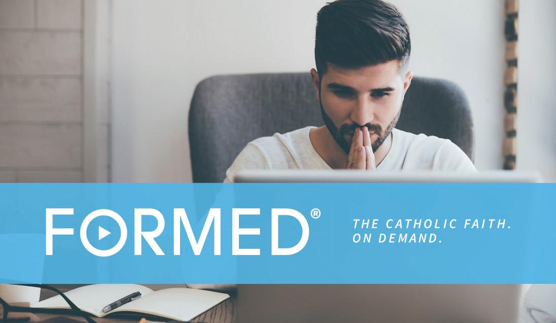 Page 7 of Are You Ready to Be FORMED? Catholic Streaming Service Free for All Parishioners