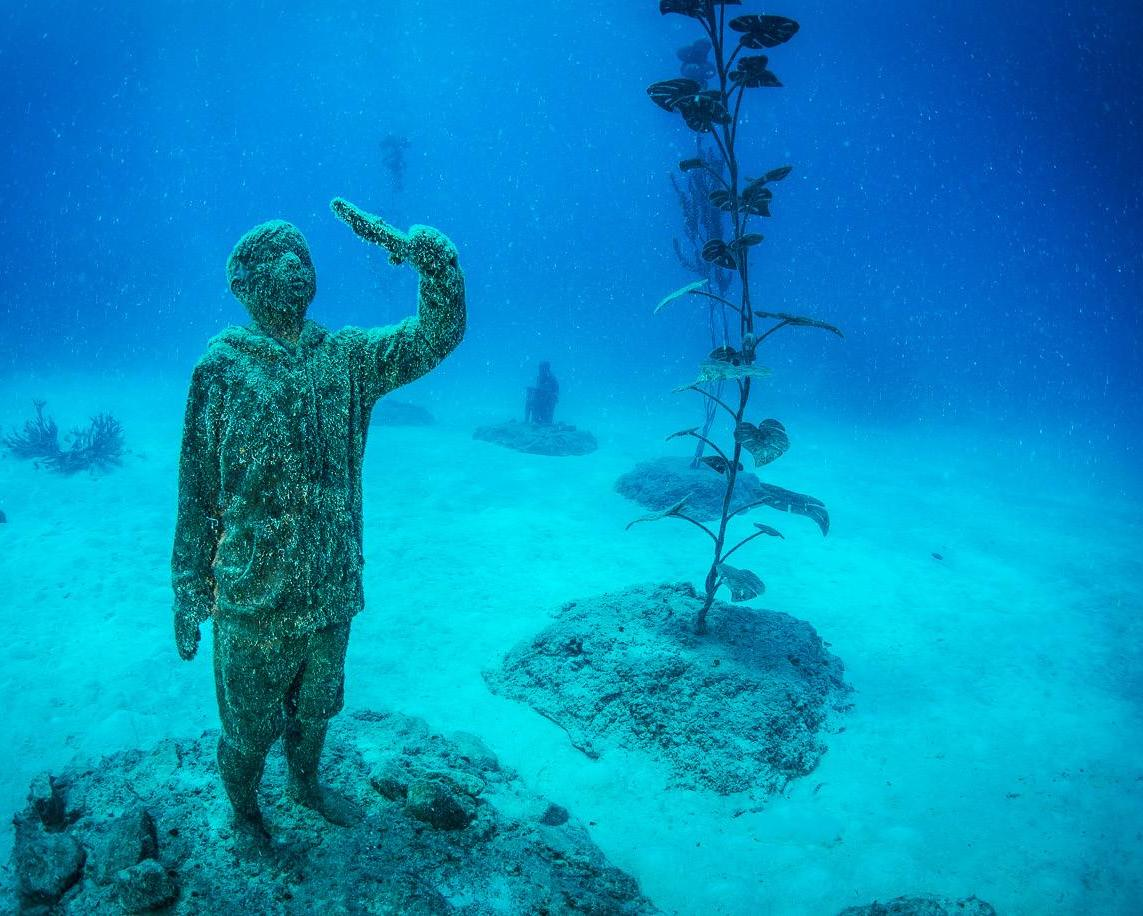 Page 26 of Q&A Jason deCaires Taylor Sculptor, Great Barrier Reef Underwater Museum