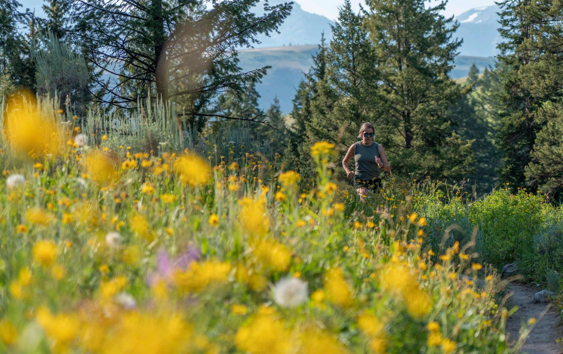 Page 50 of On Two Feet: Running Your Way Through Teton Trails by Shannon Sollitt
