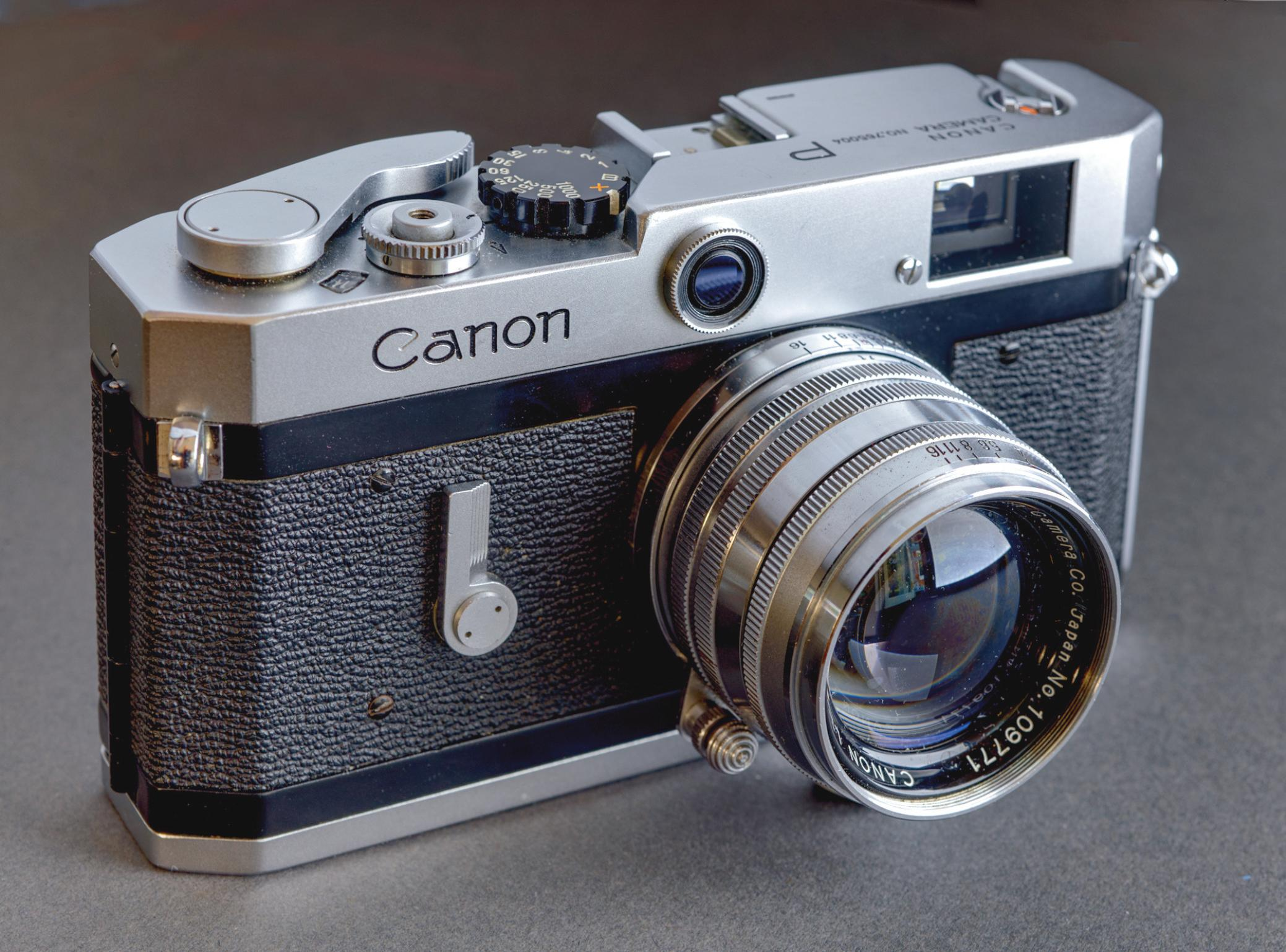 Page 14 of Canon P A close look at a 'Populaire' 35mm rangefinder produced by Canon in the 1950s