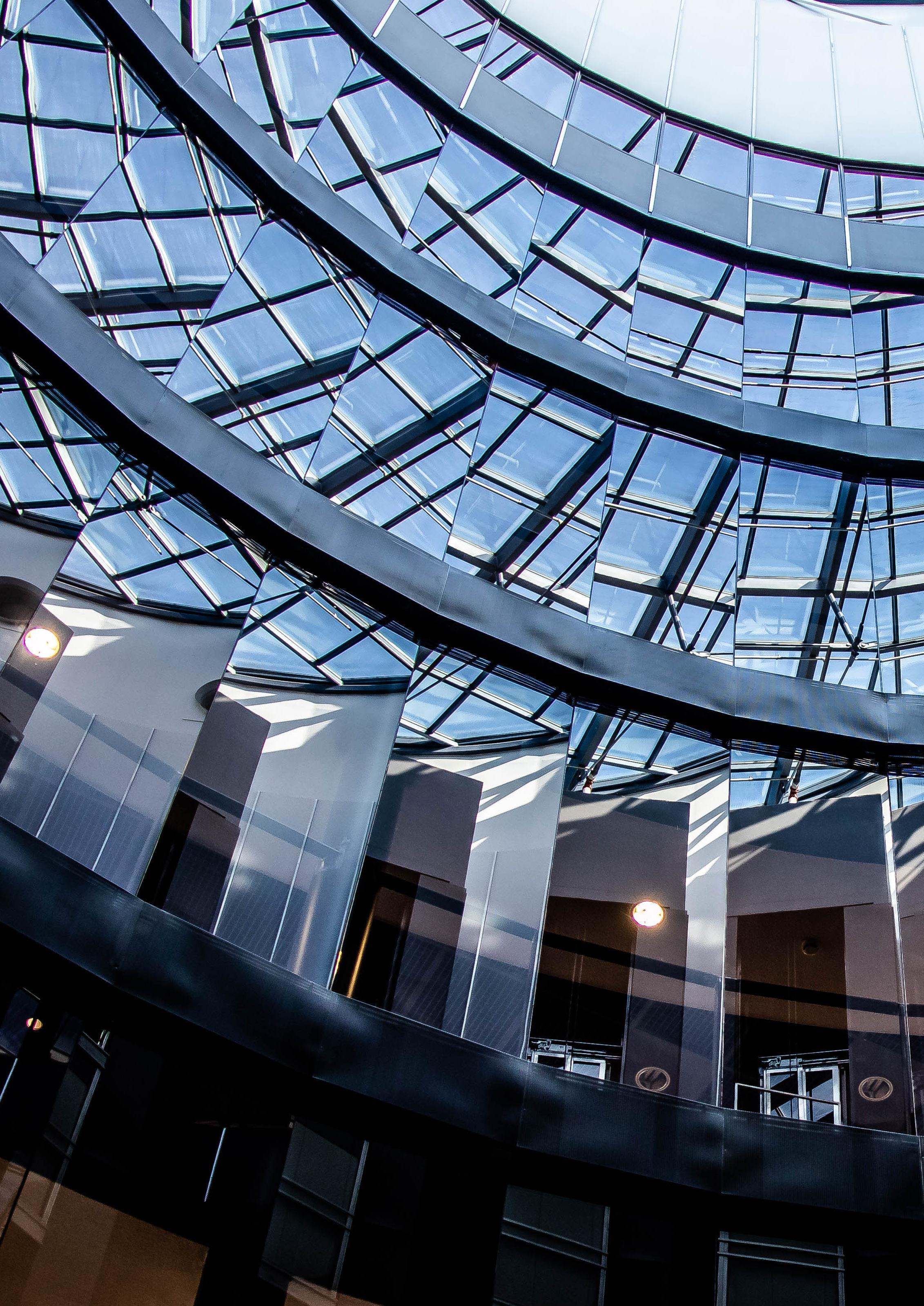 Page 4 of Upea lasitettu alumiinirunkoinen Atrium-aula