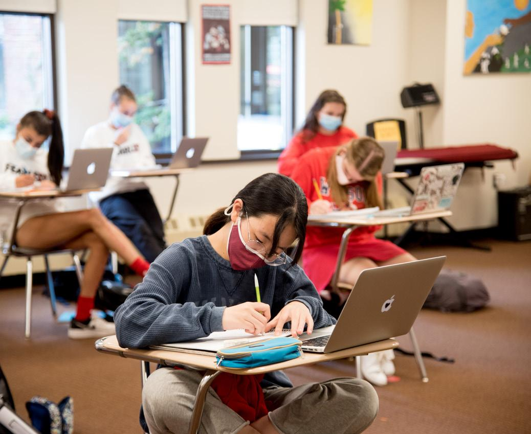 Page 5 of Fall Photos: Life on Campus During a Pandemic
