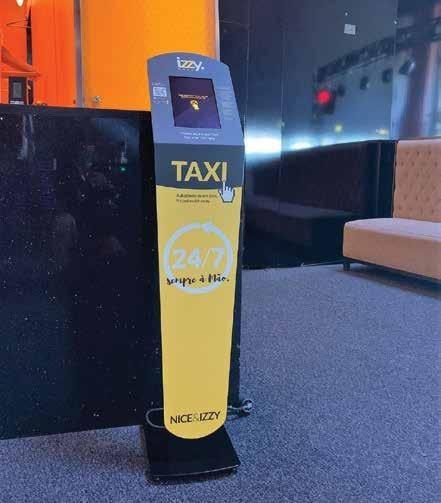 Page 7 of IzzyMove instalou quiosque para chamar táxis no Casino de Chaves