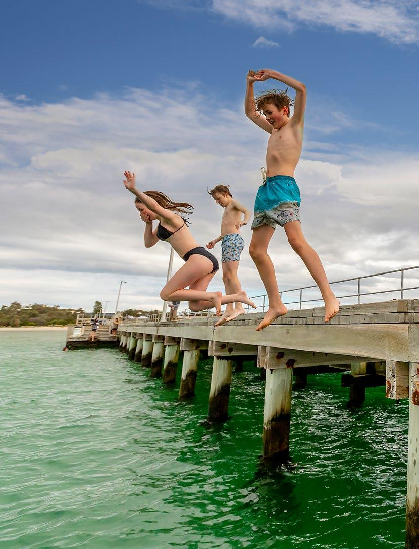 Page 22 of Readers Leap For Jetty Jumping