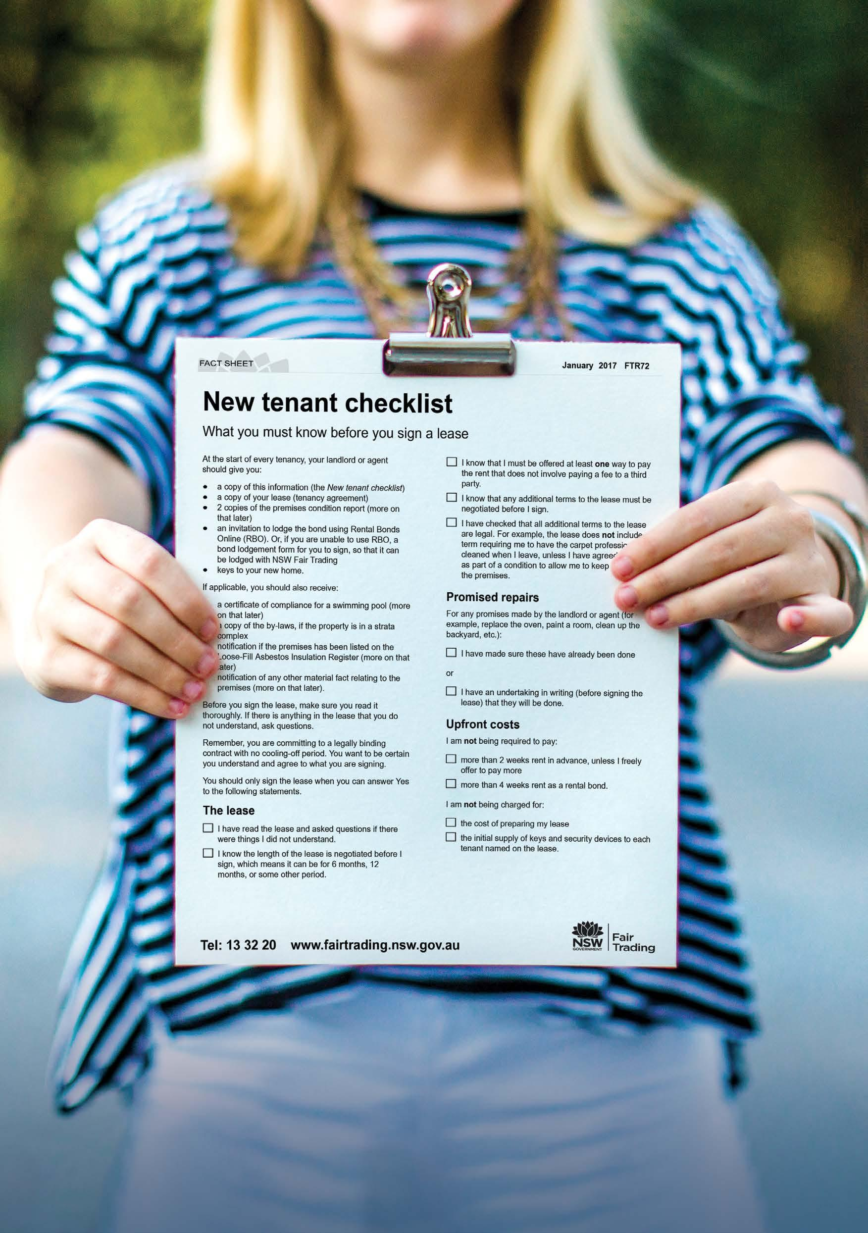 Page 16 of Customer service New home checklist Property condition report