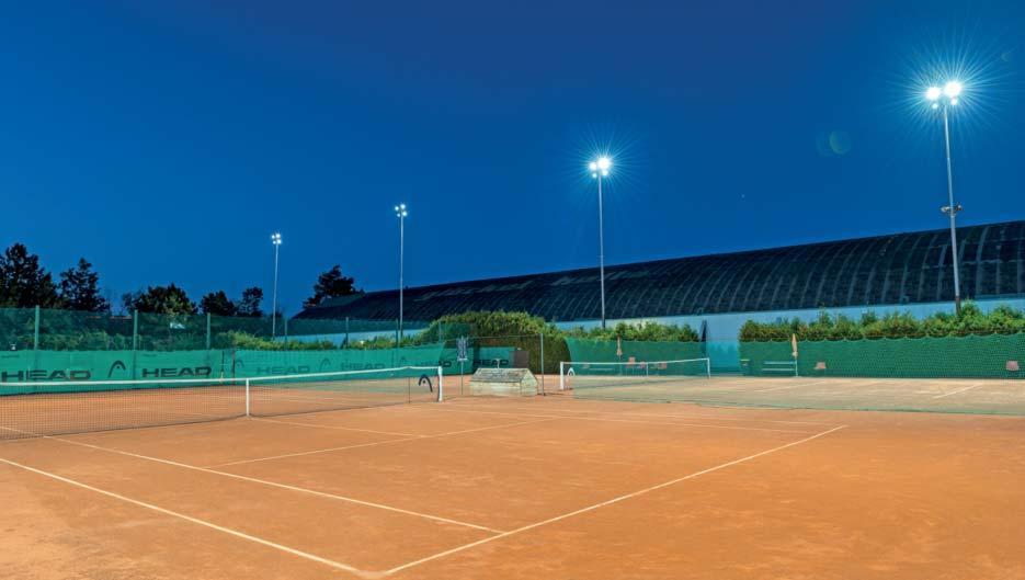 Page 13 of LED-Beleuchtung für Tennisplätze und Tennishallen