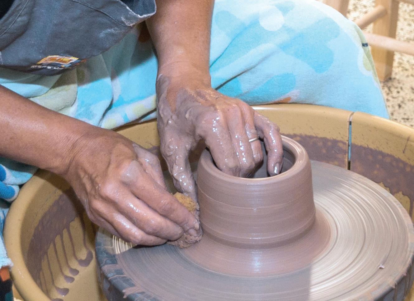 Page 10 of 2-D Open Studio | Members Only Ceramics Open Studio Currently Enrolled Ceramics