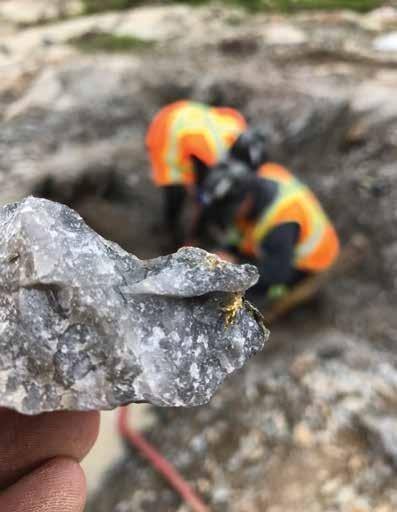 Page 16 of Granada Gold : Changement de cap après une découverte à haute teneur près de la surface